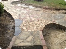 Maccelsfield Project - Crazing paving